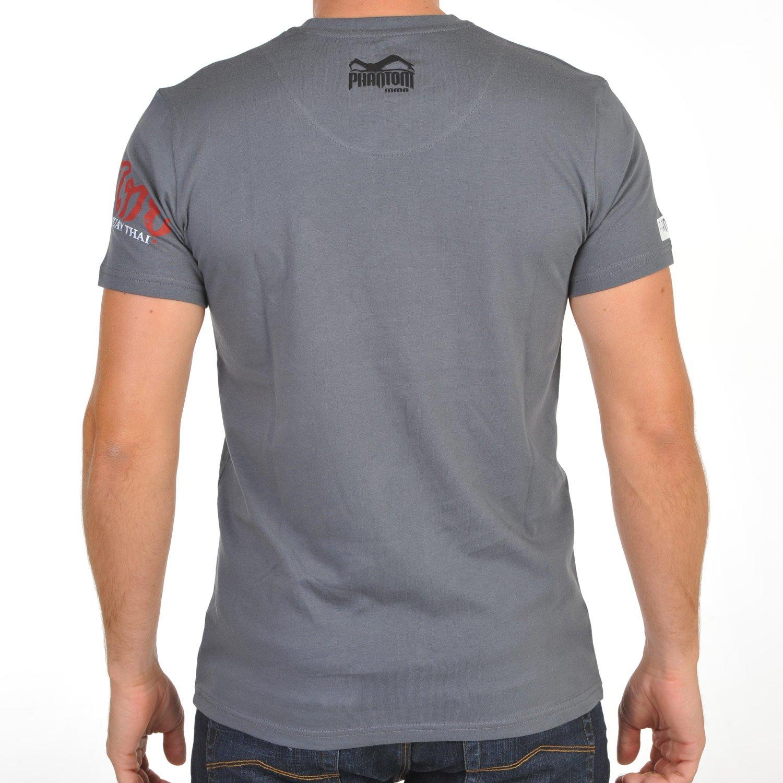 Phantom MMA T-Shirt Muay Thai - Gris, XX-Large - Parte de Arriba ...