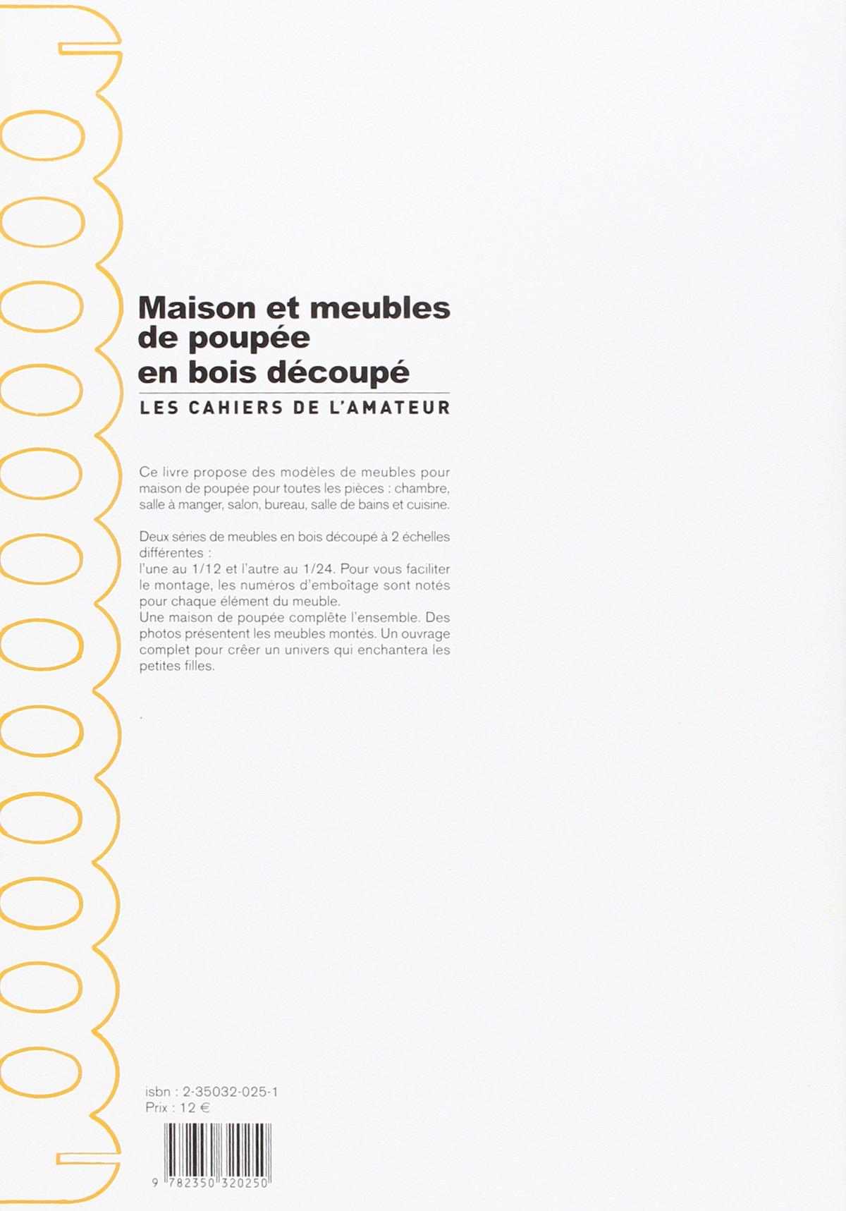 Maisons Et Meubles De Poup E En Bois D Coup Amazon Ca Collectif  # Salon Bureau Et Tv