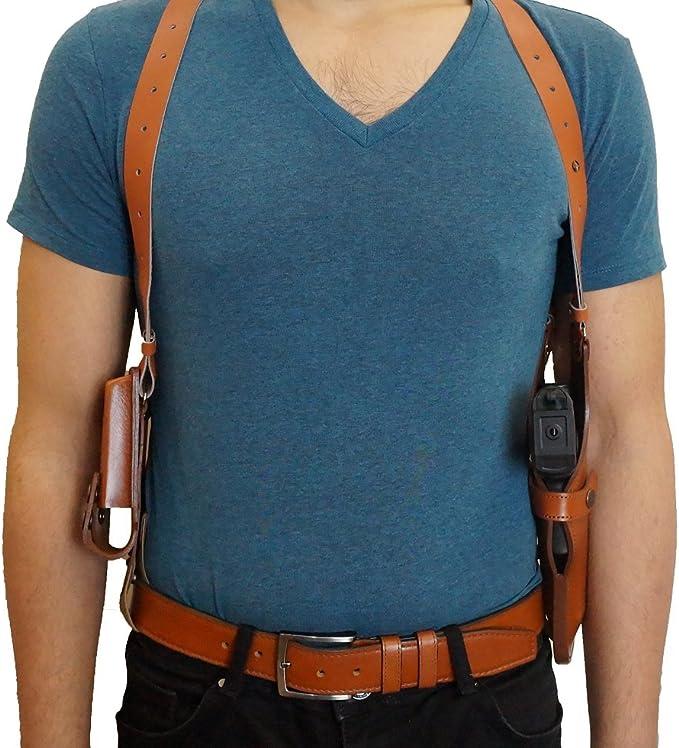 Alis Leather ALIS453 Vertical Shoulder Holster