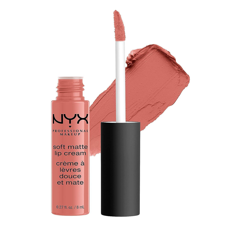 NYX PROFESSIONAL MAKEUP Soft Matte Lip Cream, High-Pigmented Cream Lipstick in Kyoto