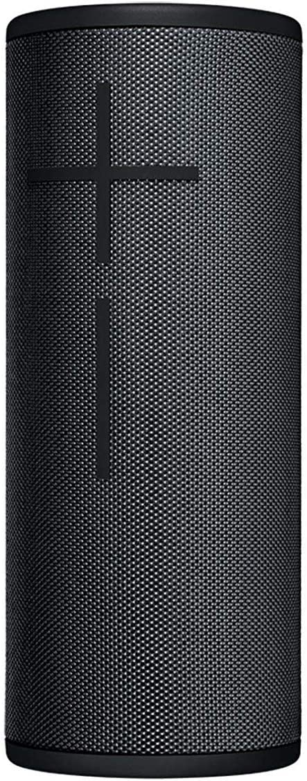Night Black Ultimate Ears Boom 3 Portable Bluetooth Wireless Speaker Bundle with Protective Hardshell Case