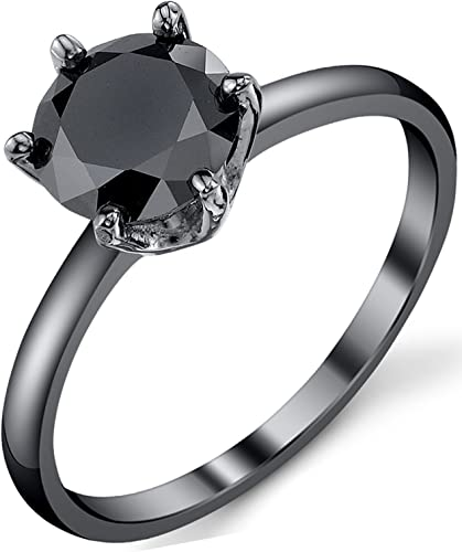 1.25 Ct Ovale Noir Onyx 925 Sterling Silver Ring