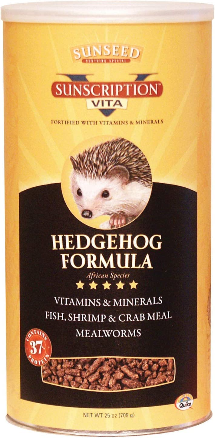 Sunseed Vita Prima Sunscription Exotics Hedgehog Formula, 25 Ounces