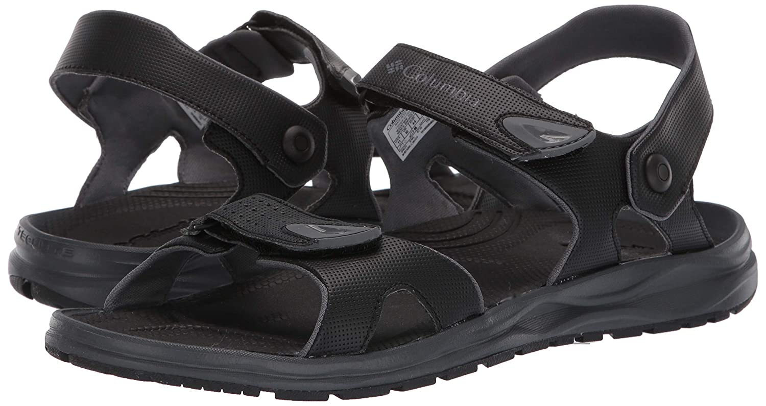 Columbia Mens Wayfinder 2 Strap Sandal Convertible Wet-Traction Grip