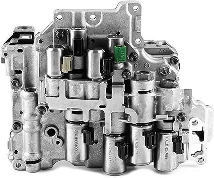 Cuerpo de válvula de transmisión, cuerpo de válvula de transmisión de caja de cambios de automóvil AF40 TF71: Amazon.es: Coche y moto