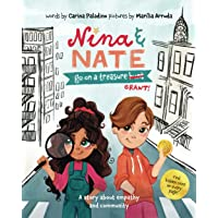 Nina & Nate go on a Treasure Grant: A story about empathy and community: Illustrated rhyming activity book, 2021