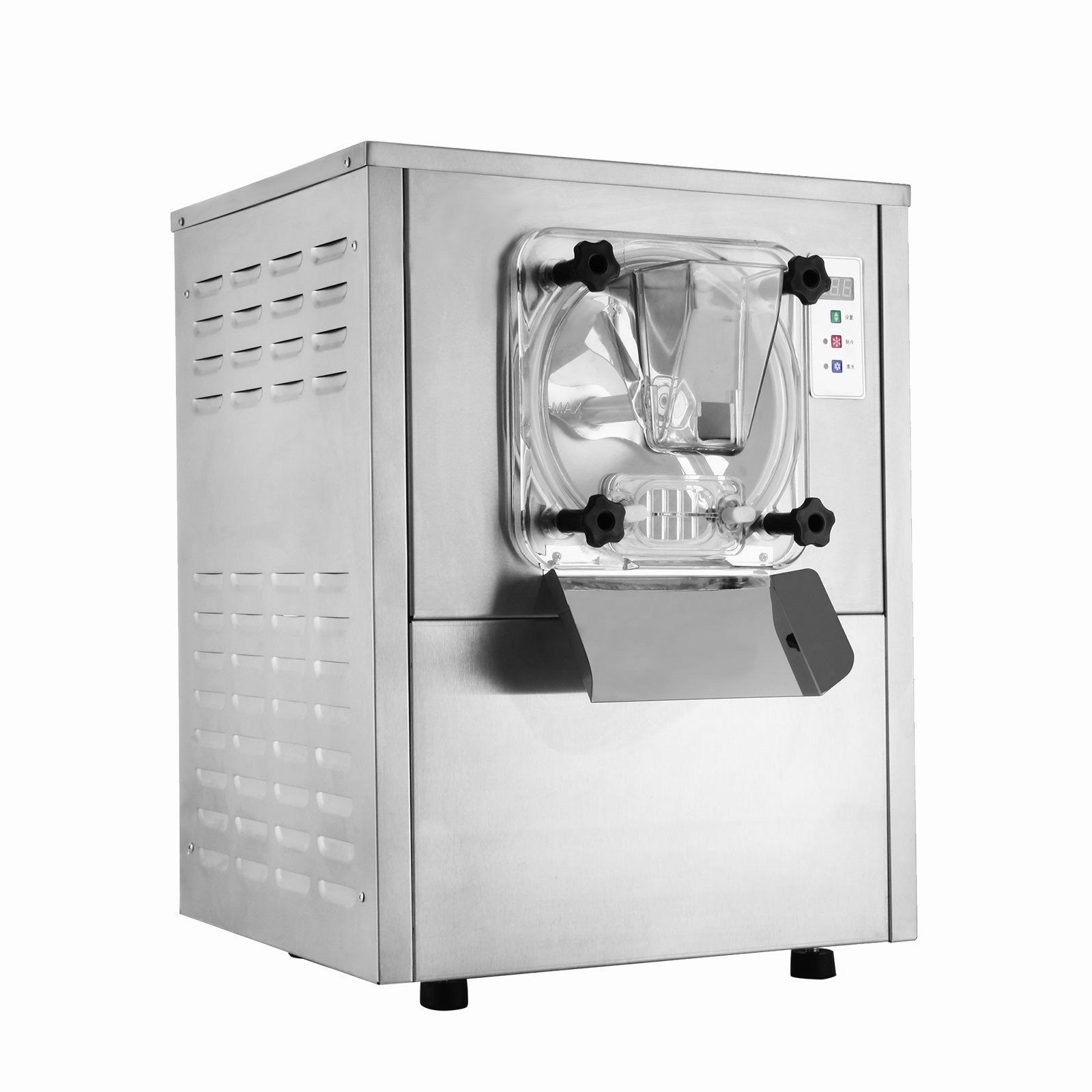 Forkwin Ice Cream Maker 1400W Ice Cream Machine 20L/H Ice Cream Maker Machine Stainless Steel Ice Cream Machine Commercial for Restaurant Coffee Shop