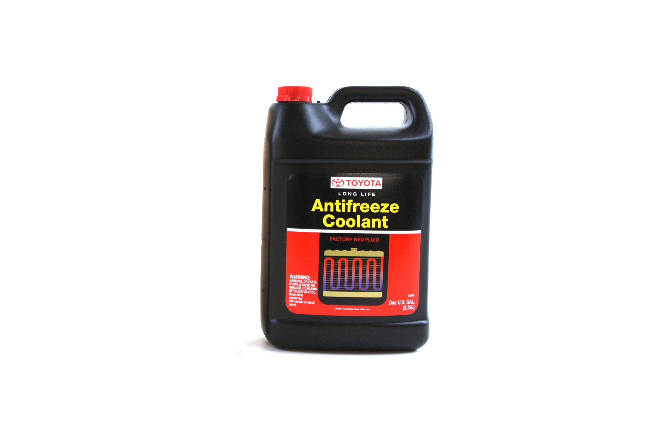 Toyota Genuine Fluid 00272-1LLAC Long Life Coolant - 1 Case (6 single gallon containers in case) by Toyota