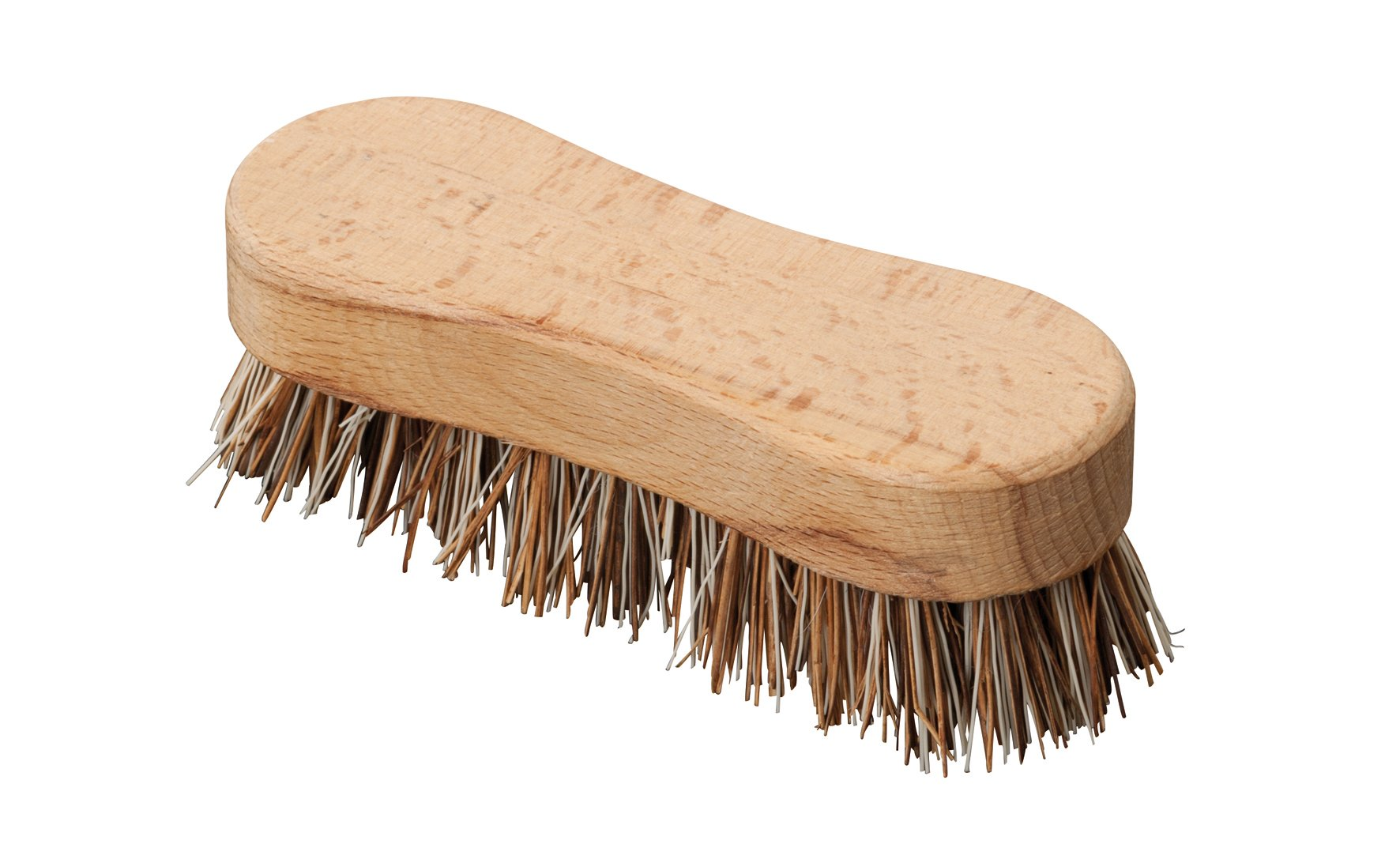 Redecker Union Fiber Scrub Brush with Untreated Beechwood Handle, 4-3/4-Inches by REDECKER