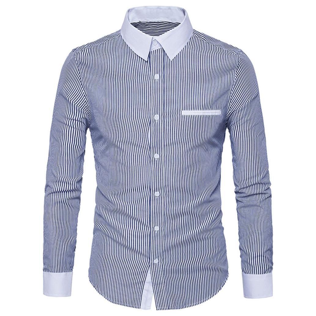 Blusa Hombre Yesmile Camiseta Camisa Casual de Manga Larga para Hombre Camisa Delgada de Manga Larga: Amazon.es: Ropa y accesorios
