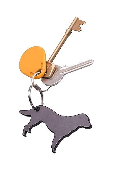 Amazon.com: Llavero abrebotellas para perro de montaña ...