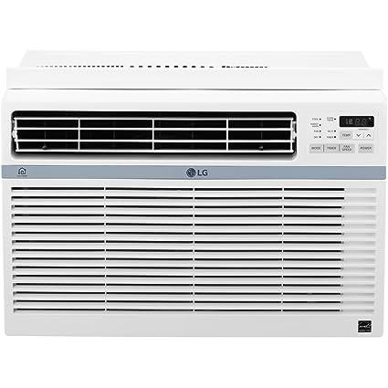 LG LW8017ERSM Energy Star 8,000 BTU Window Air Conditioner with Wi-Fi  (Certified Refurbished)