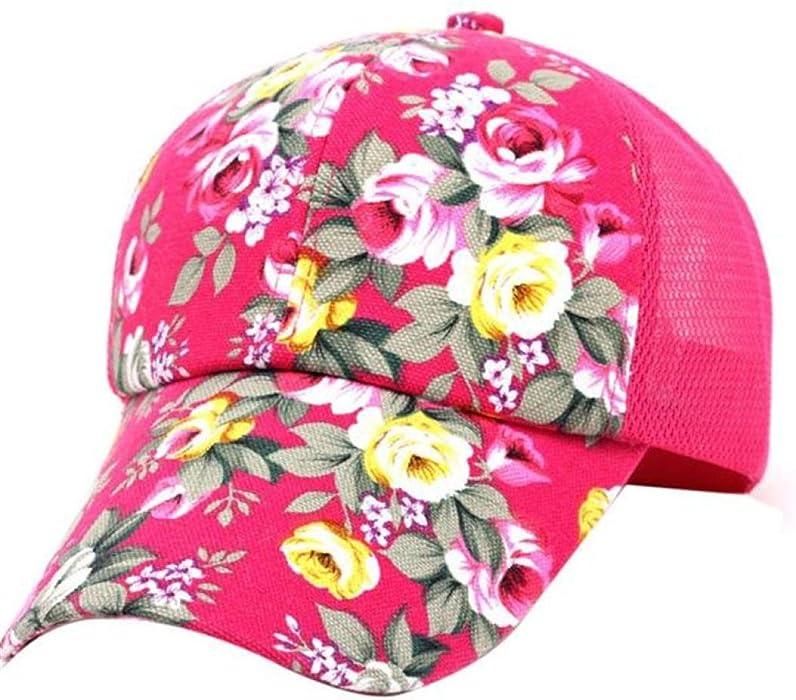 7c053503 Adjustable Baseball Cap Embroidered Printed Hip Hop Mesh Hats Cotton Snapback  Flat Hats Boys Girls Summer