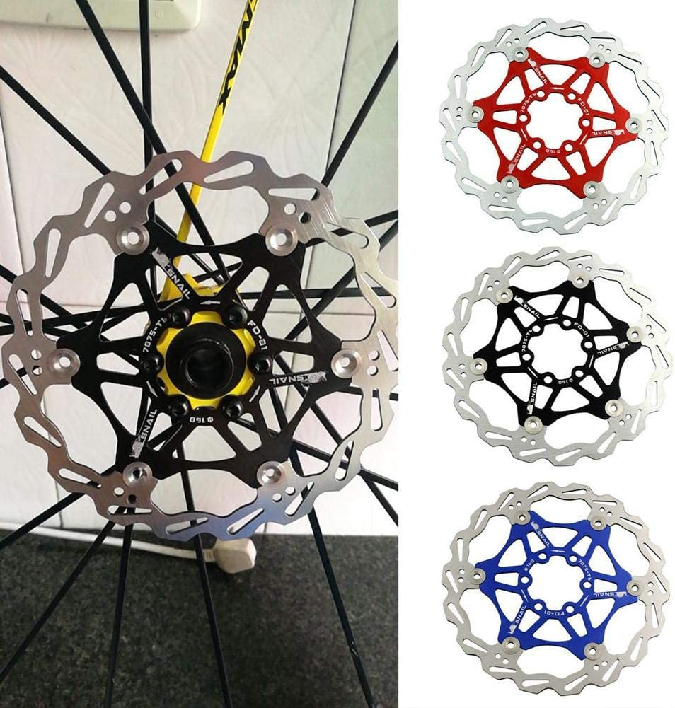 Heitaisi Mountain Bike Floating Discs Bicycle Rotor Disc Brake