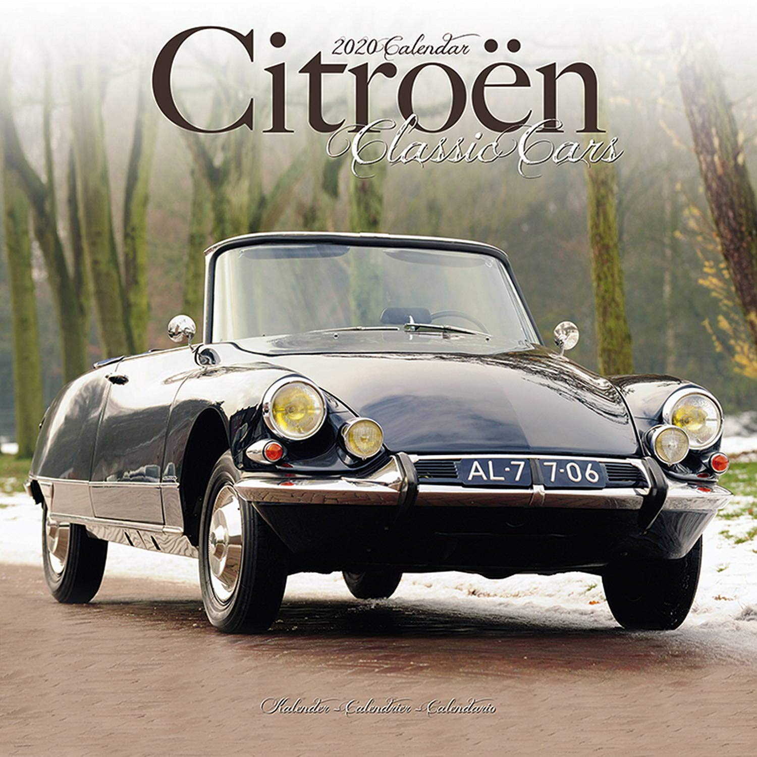 Calendrier Fun Car 2020.Citroen Classic Car Calendar Calendars 2019 2020 Wall
