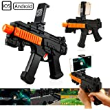 Oct17 AR Gun Bluetooth Toy with18 Games For Mobile IOS Apple Android Smart Phone Video Game Augmented Reality Virtual Reality VR Game Controller and Lots of Free Apps