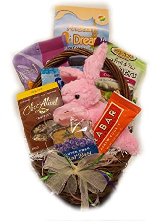 Amazon vegan easter basket by well baskets other products vegan easter basket by well baskets negle Image collections