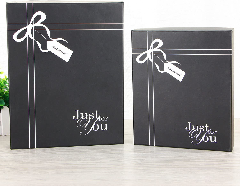 hochzeitsgeschenke Geburtstagsgeschenk Jahrestag hochzeitstag Geschenk XIUJUAN Groß Leder Tagebuch mit Geschenkbox,Notizbuch Vintage Nachfuellbar Reisetagebuch leere buch zum selber gestalten Blanko Skizzenbuch Hochzeit Gästebuch Stammbuch Hochzeitsplaner