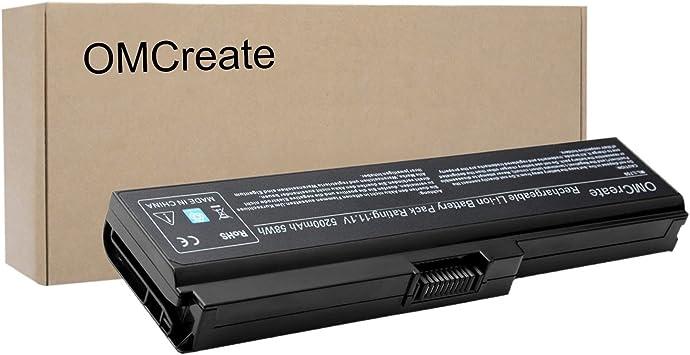 Amazon.com: omcreate trademarket – Batería para Toshiba ...