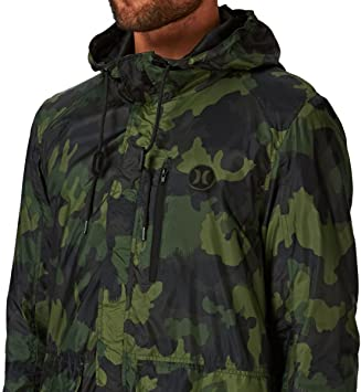 coupe vent hurley camo