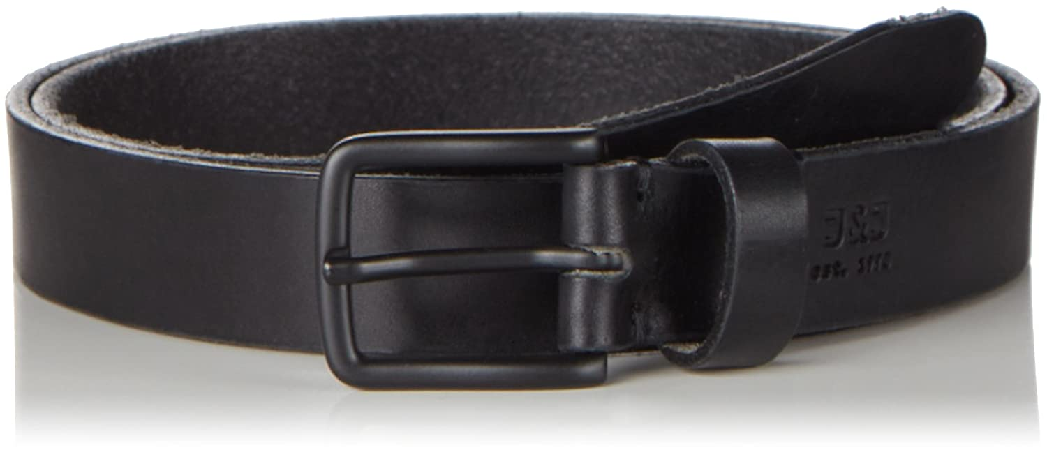 JACK   JONES Herren Gürtel Jjilee Leather Belt Noos  Amazon.de  Bekleidung bf24d72802