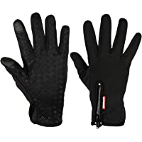 Expower Touch Screen Gloves Windproof Waterproof Cold Proof Thermal Mittens Outdoor Cycling Hunting Climbing Sports Bicycle with Touchscreen Function