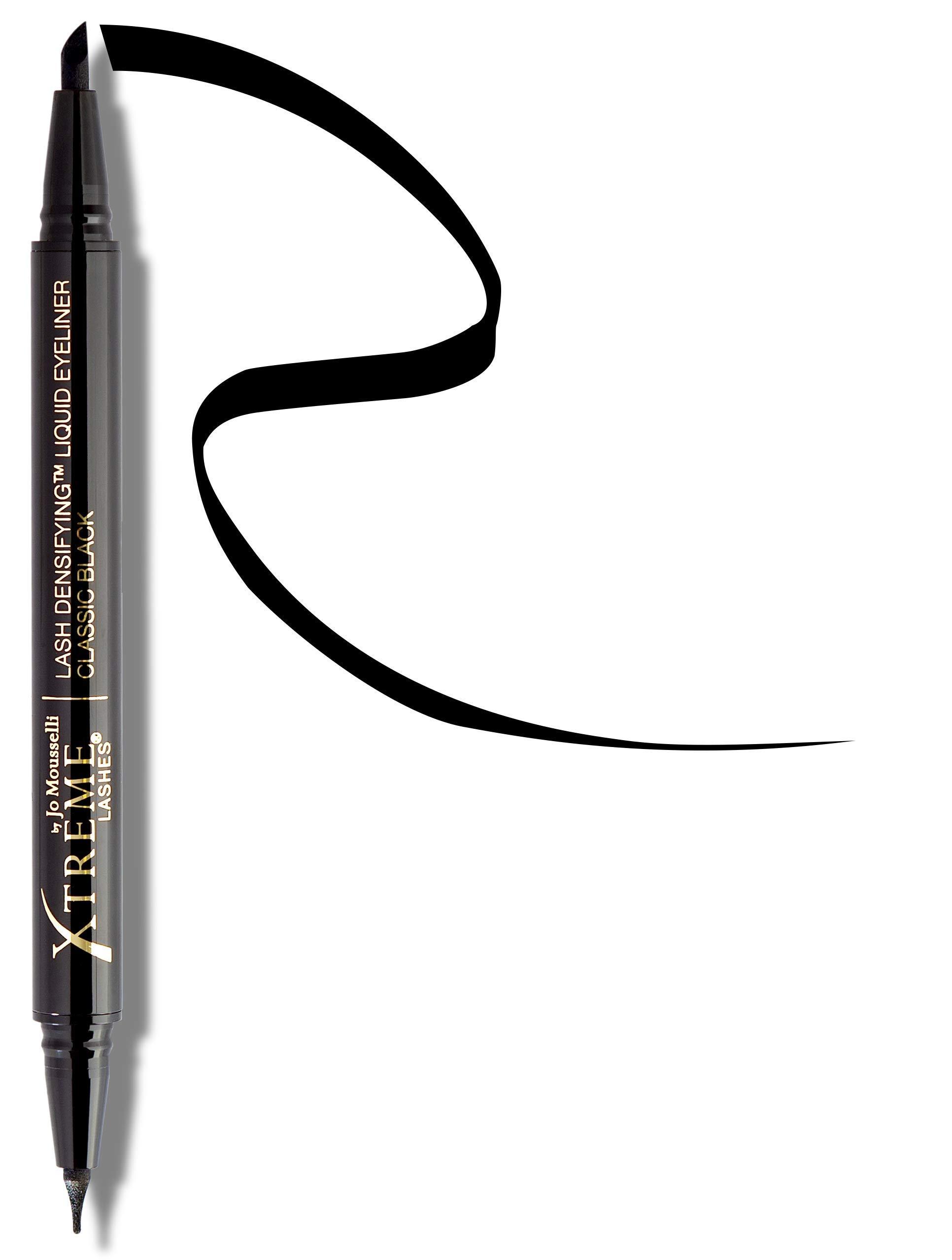 Xtreme Lashes Lash Densifying Liquid Eyeliner, Classic Black - Hypoallergenic & Dermatologist Tested - Eyelash Extension Compatible by Xtreme Lashes