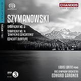 Szymanowski: Symphonies Nos. 2 & 4, Concert Overture