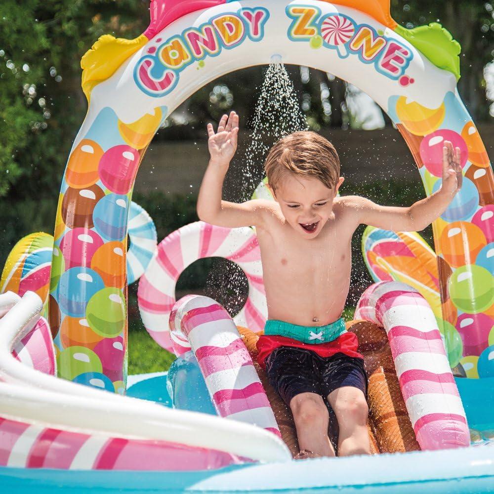 Intex 57149NP - Centro de juegos hinchable Candy Zone 295 x 191 x ...