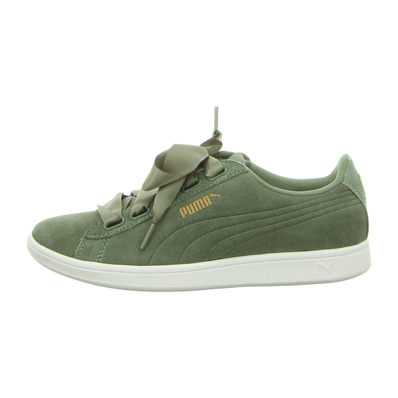 Puma Damen Vikky Ribbon SD P Sneaker  40.5 EU|Grau (Laurel Wreath-laurel Wreath 03)