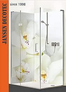 Esquina – Mampara de ducha, 90 x 200 cm, a la izquierda, 120 x 200 ...
