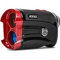 AOFAR G2 Golf Telescopio Telémetro - Telémetro Impermeable de Láser de Dos Lugares Decimales de 6 Veces, con Pendiente, Vibración de Pulso, Bolso Portable, Batería de Gratis, Embalaje de Regalo