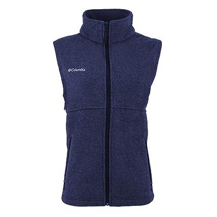 amazon com columbia women s fern creek full zip fleece vest