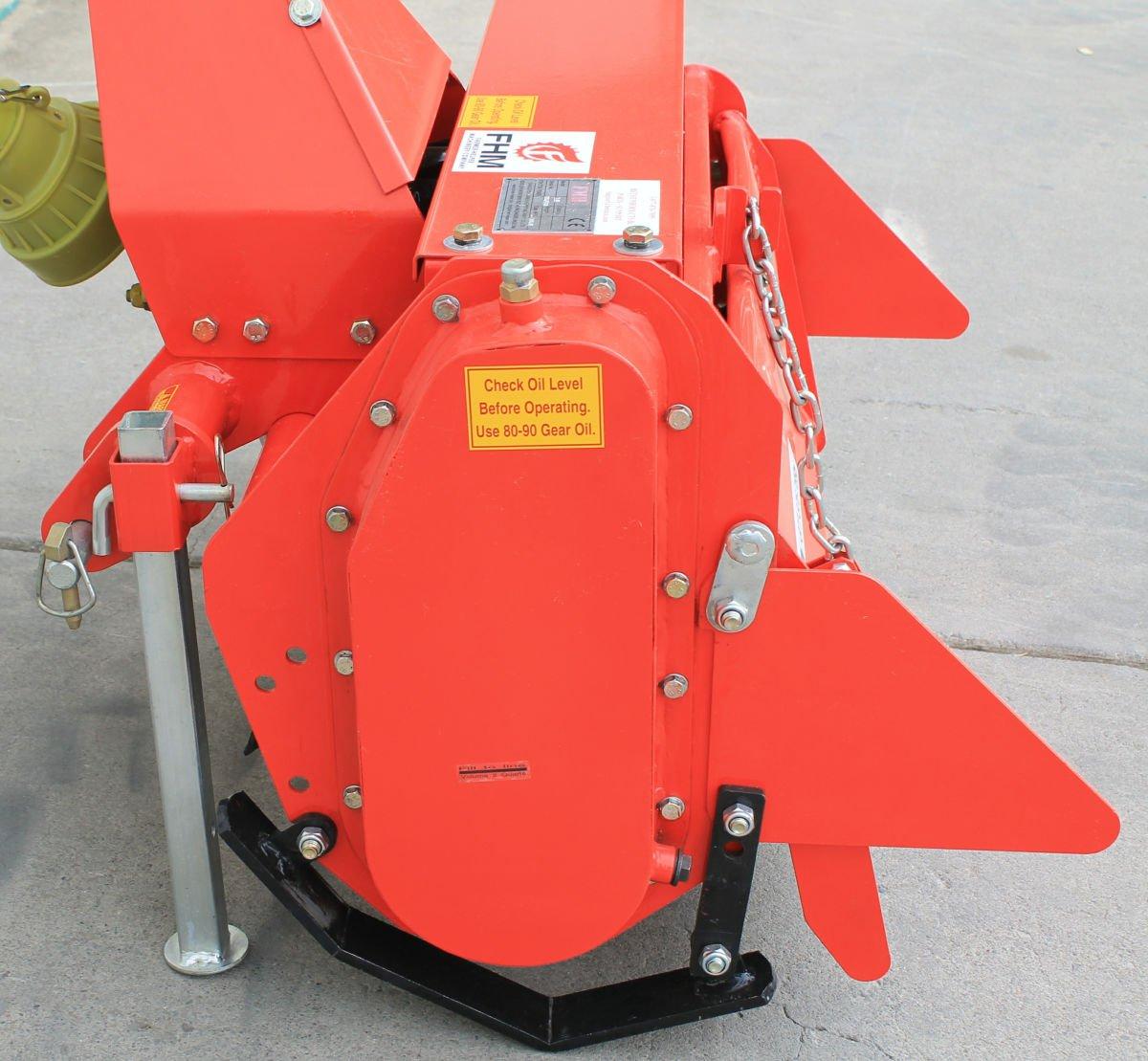 Value Leader 33'' Tiller Cat.I 3pt 14+hp (FH-TL85) ~Adjustable Offset & SlipClutch Driveline by Farmer-Helper (Image #3)
