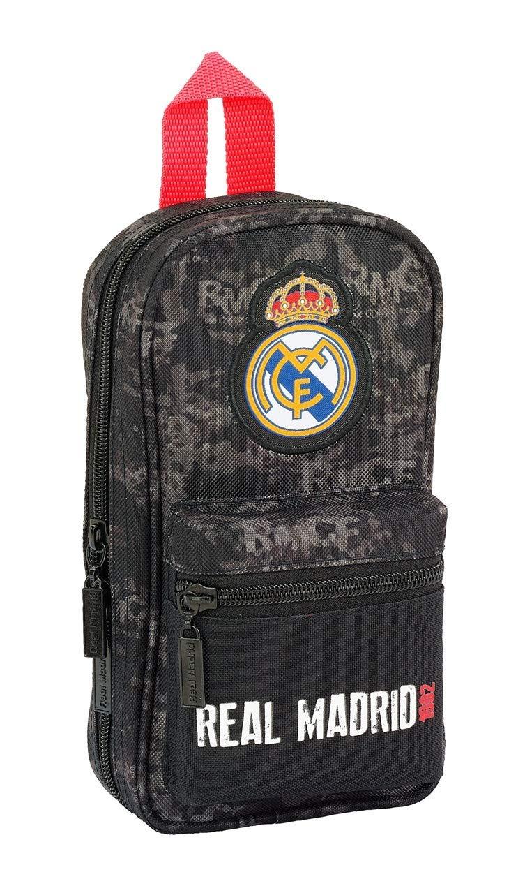Estuches Multicolor Real Madrid: Amazon.es: Oficina y papelería