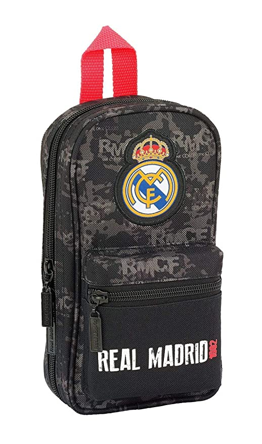 Amazon.com : Real Madrid Black Case + 4 Holder 12 x 23 x 5 ...