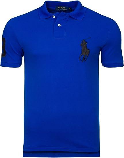 Polo Ralph Lauren Slim FIT - color Azul Pacific Royal - 100 ...