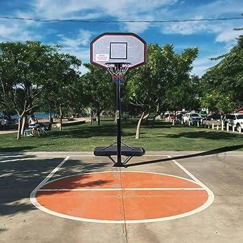 Generic - Red de baloncesto de pie de 305 cm de largo con soporte ...