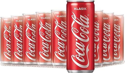 Coca-Cola Original Slim, 250ml, Pack of 24