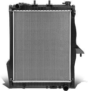 DNA Motoring OEM-RA-2739 DPI 2739 Factory Style Aluminum Cooling Radiator