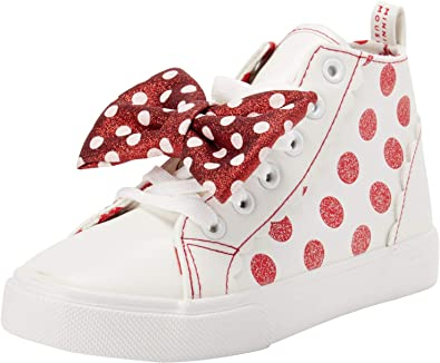 Disney Girls Minnie Mouse Hi-Top