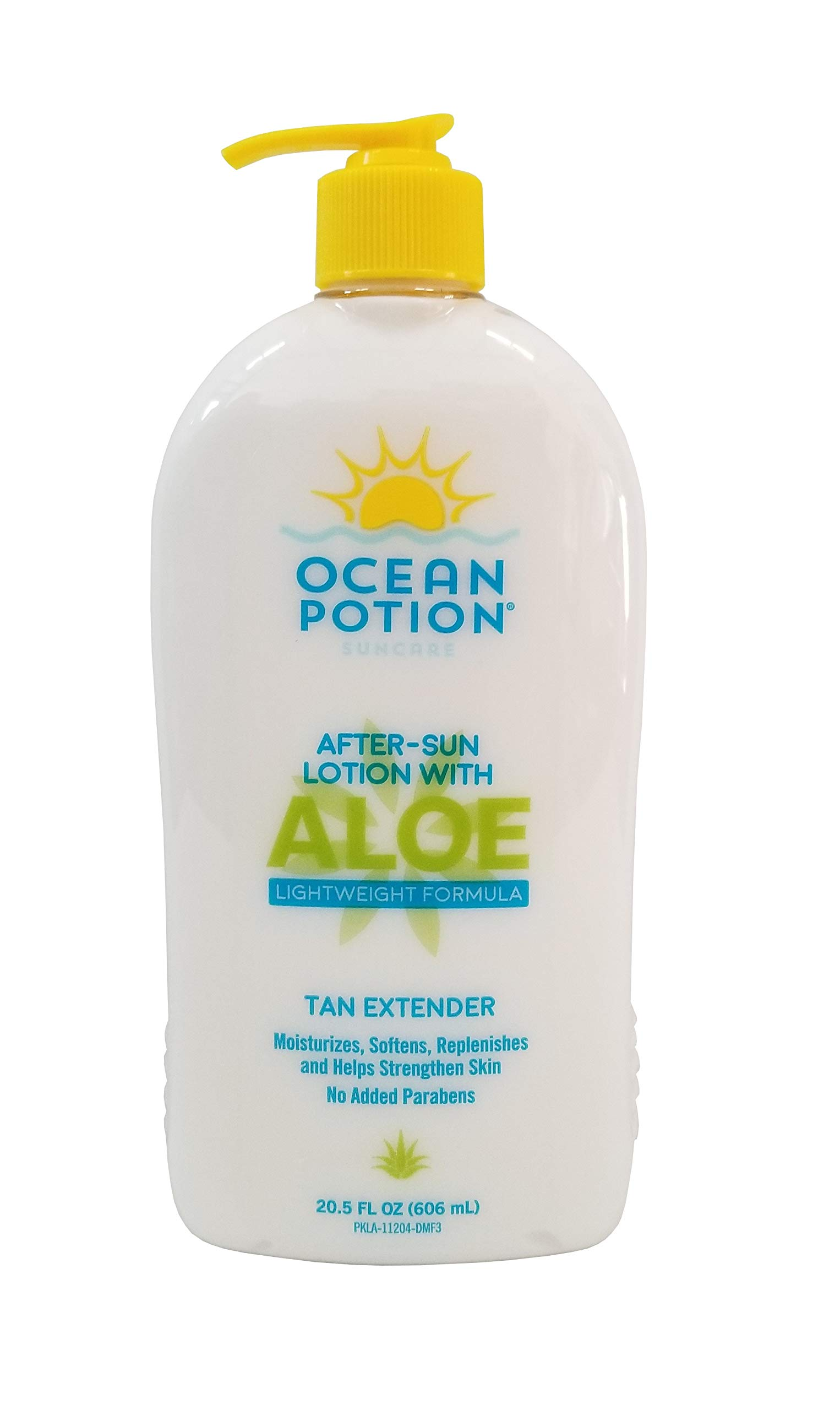 Ocean Potion After Sun Lotion with Aloe Tan Extender, 20.5 Ounce Bottle, Pack of 2 by Ocean Potion