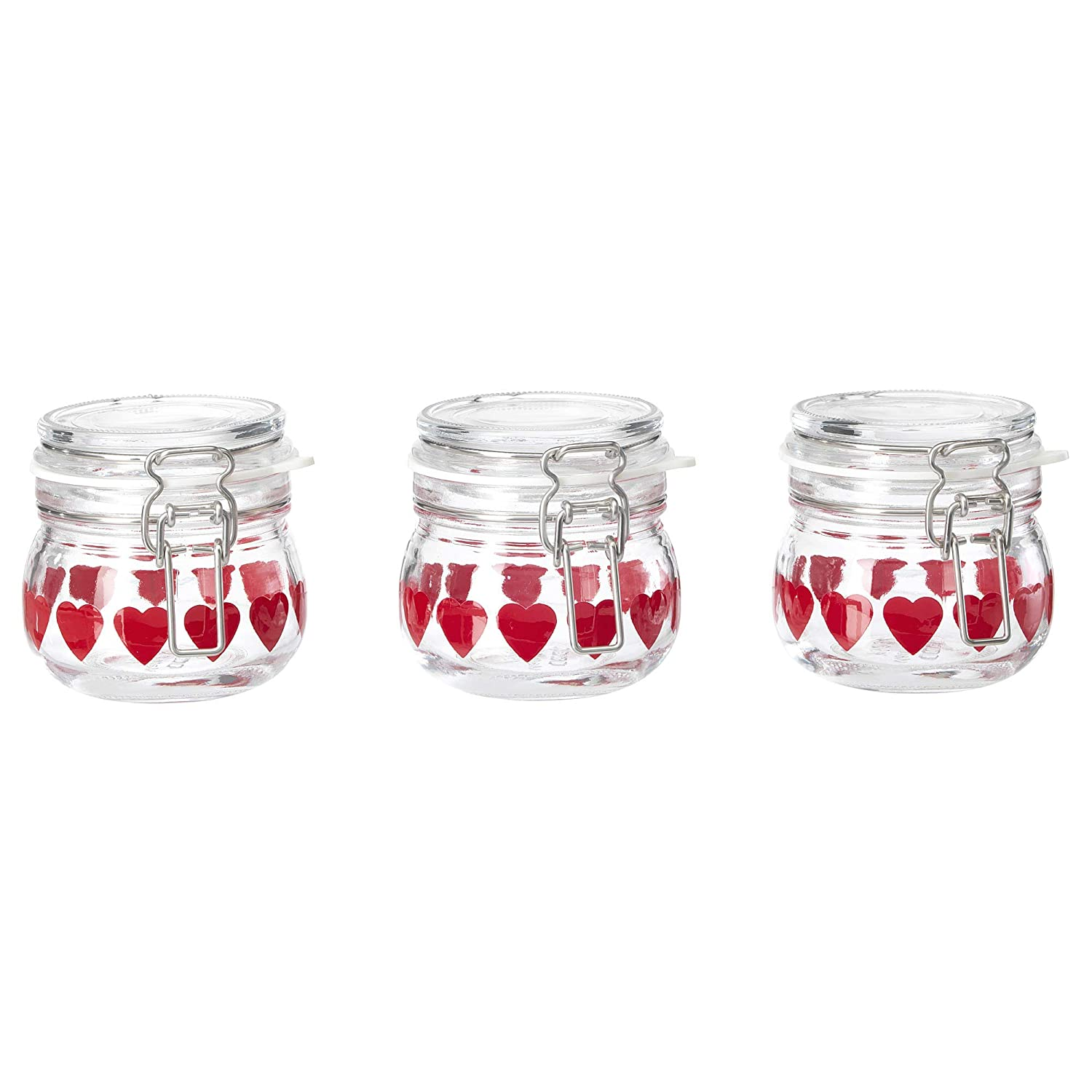 IKEA 504.031.55 Vinter 2018 Jar With Lid, Glass