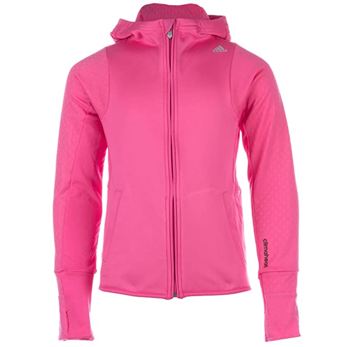 adidas - Sudadera con capucha - para niña Rosa rosa : Amazon.es: Ropa y accesorios