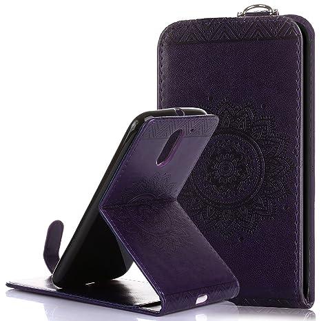 Funda Motorola Moto G4 Carcasa Moto G4 Plus, Ukayfe Flip ...