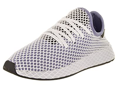 8d516be5e adidas DEERUPT Runner W Womens Fashion-Sneakers CQ2912 5 - Chalk Blue Chalk  Blue