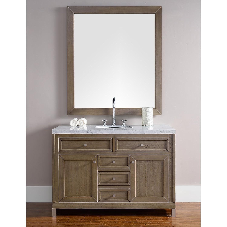 48 in. Single Vanity in White Washed Walnut - - Amazon.com