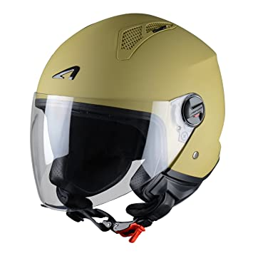 Astone Helmets Mini Jet Army Casco Jet, color Beige Desert, talla M