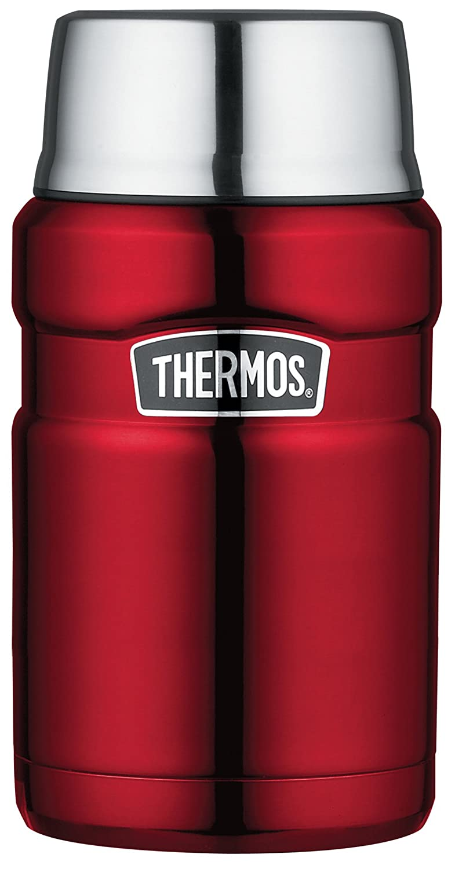 Thermos in Acciaio Inossidabile re Alimentare Flask - Midnight Blue (710 ml) 101423