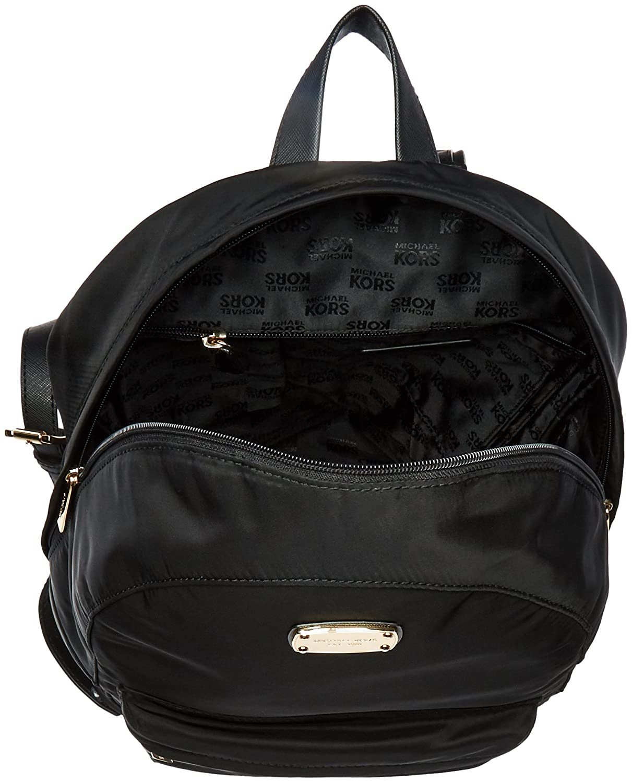 amazoncom michael kors jet set item lg backpack tote handbag purse bag black shoes